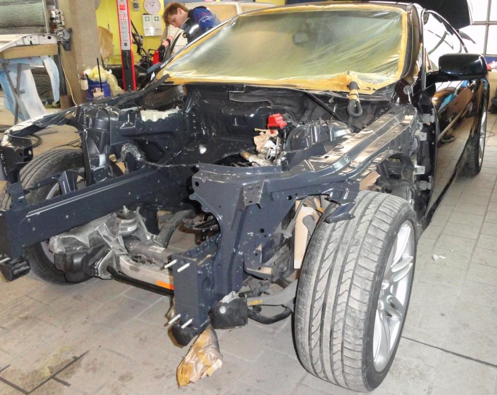 unfallinstandsetzung aluminium karoserie